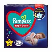 PAMPERS Night Pants Νο5 12-17kg 22τεμ
