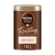 NESCAFE Gold Roastery Light Καφές Στιγμιαίος Καβουρδισμένος & Αλεσμένος 100gr