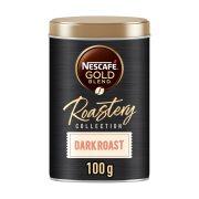 NESCAFE Gold Roastery Dark Καφές Στιγμιαίος Καβουρδισμένος & Αλεσμένος 100gr