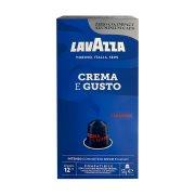 LAVAZZA Καφές Espresso Crema E Gusto σε Kάψουλες συμβατές με μηχανή Nespresso 10x5,7gr