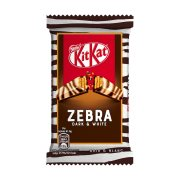 KIT KAT Zebra Γκοφρέτα με Μαύρη & Λευκή Σοκολάτα 41,5gr