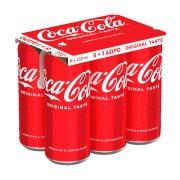 COCA COLA Αναψυκτικό 5x330ml +1 Δώρο