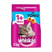 WHISKAS Ξηρά Τροφή Γάτας 1+ετών Κροκέτες Γεμιστές με Τόνο & Λαχανικά 2kg