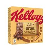KELLOGG'S All Bran Μπάρες Δημητριακών με Σοκολάτα 6x40gr