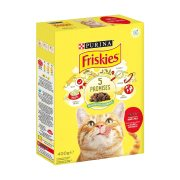FRISKIES Ξηρά Τροφή Γάτας με Βοδινό, Συκώτι & Κοτόπουλο 400gr