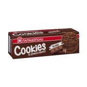 ΠΑΠΑΔΟΠΟΥΛΟΥ Cookies Μπισκότα με Κομμάτια Σοκολάτας & Κακάο 180gr