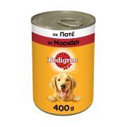 PEDIGREE Υγρή Τροφή Σκύλου Μοσχάρι Πατέ 400gr