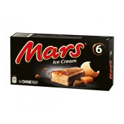 MARS Παγωτοσοκολάτες 6τεμ 250gr (306ml)