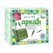 ΑΡΚΑΔΙ Σαπούνι πράσινο Vegan 4x150gr