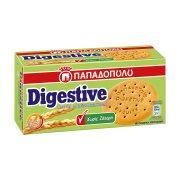 ΠΑΠΑΔΟΠΟΥΛΟΥ Digestive Μπισκότα Χωρίς ζάχαρη 250gr