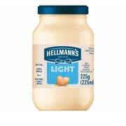 HELLMANN'S Μαγιονέζα Light 225ml