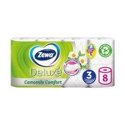 ZEWA Deluxe Χαρτί Υγείας Χαμομήλι 3 Φύλλων 8τεμ 728gr