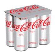 COCA COLA Light Αναψυκτικό Χωρίς ζάχαρη 6x330ml
