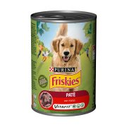 FRISKIES Vitafit Υγρή Τροφή Σκύλου Μοσχάρι Πατέ 400gr