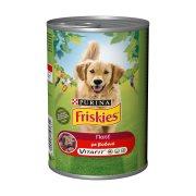 FRISKIES Vitafit Υγρή Τροφή Σκύλου Βοδινού Πατέ 1,2kg