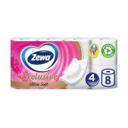 ZEWA Exclusive Χαρτί Υγείας Ultra Soft 4 Φύλλων Λευκό 8τεμ 912gr