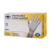 ΘΑΛΑΣΣΙΝΟΣ Γάντια Latex με Πούδρα Small 100τεμ