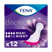 TENA Discreet Σερβιέτες Ακράτειας Maxi Night 12τεμ