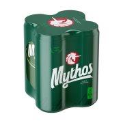 MYTHOS Μπίρα Lager 4x500ml