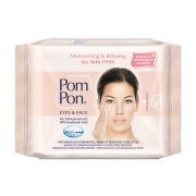 POM PON Υγρά Μαντηλάκια Ντεμακιγιάζ Moisturising & Relaxing All Skin Types 20τεμ