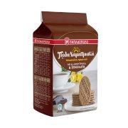 ΠΑΠΑΔΟΠΟΥΛΟΥ Πολυδημητριακά Μπισκότα με 4 Δημητριακά & Σοκολάτα 160gr