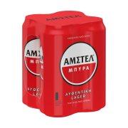 ΑΜΣΤΕΛ Μπίρα Lager 4x500ml