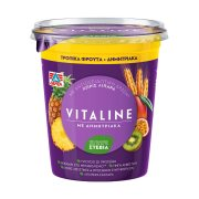 ΔΕΛΤΑ Vitaline Επιδόρπιο Γιαουρτιού Τροπικά Φρούτα Δημητριακά 380gr