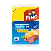 FINO Σακούλες Τροφίμων Μεσαίες 50τεμ