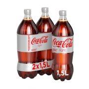 COCA COLA Light Αναψυκτικό Χωρίς ζάχαρη 2x1,5lt