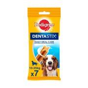 PEDIGREE Dentastix Σνακ Σκύλου για Σκύλους Μεσαίου Μεγέθους 7τεμ 180gr