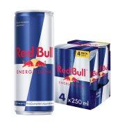 RED BULL Ενεργειακό Ποτό 4Χ250ml