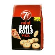 7DAYS Bake Rolls Mini Παξιμαδάκια Πίτσα 160gr