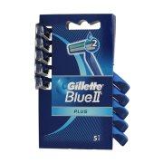 GILLETTE Ξυραφάκια Μιας Χρήσης Blue II Plus 5τεμ