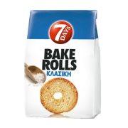 7DAYS Bake Rolls Παξιμαδάκια Κλασική 160gr