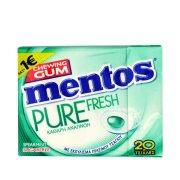 MENTOS Pure Fresh Τσίχλες Δυόσμος 30gr