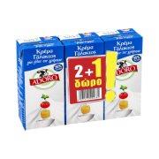 ADORO Κρέμα Γάλακτος 2x200ml +1 Δώρο
