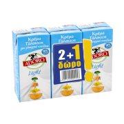 ADORO Light Κρέμα Γάλακτος 18% 2x200ml +1 Δώρο