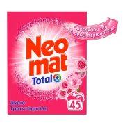 NEOMAT Απορρυπαντικό Πλυντηρίου Ρούχων Σκόνη Total Άγριο Τριαντάφυλλο 45 πλύσεις