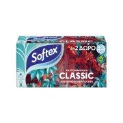 SOFTEX Χαρτομάντηλα Τσέπης Λευκά 6τεμ + 2 Δώρο 177,6gr