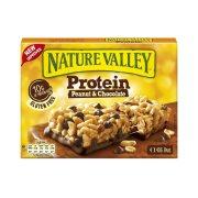 NATURE VALLEY Protein Μπάρες Δημητριακών με Peanuts, Σοκολάτα & Πρωτεΐνη Χωρίς γλουτένη 4x40gr