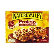 NATURE VALLEY Protein Μπάρες Δημητριακών με Αλατισμένη Καραμέλα, Ξηρούς Καρπούς & Πρωτεΐνη Χωρίς γλουτένη 4x40gr
