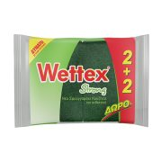 WETTEX Σφουγγαράκι Κουζίνας 2τεμ +2 Δώρο