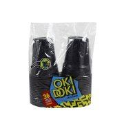 OKI DOKI Ποτήρια Μαύρο 430ml 36τεμ