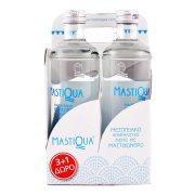 MASTIQUA Νερό Ανθρακούχο με Μαστιχόνερο 3x330ml +1 Δώρο