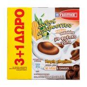 ΓΙΩΤΗΣ Άνθος Αραβοσίτου Κρέμα Σοκολάτα Χωρίς γλουτένη 3x100gr +1 Δώρο