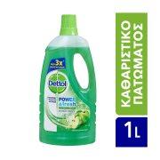 DETTOL Power & Fresh Καθαριστικό Υγρό  Γενικής Χρήσης Πράσινο Μήλο 1lt