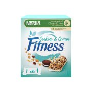 NESTLE Fitness Μπάρες Δημητριακών Cookies & Cream 6x23,5gr