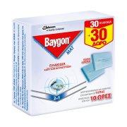 BAYGON Mat Εντομοαπωθητικές Ταμπλέτες 30τεμ + 30τεμ Δώρο