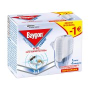 BAYGON Εντομοαπωθητικό Υγρό για 45 Νύχτες Σετ 27ml