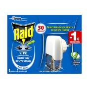 RAID Εντομοαπωθητικό Υγρό  για 30 Νύχτες Σετ
